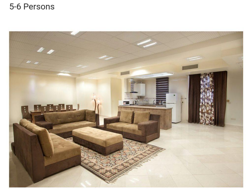 اجاره آپارتمان روزانه در تهران | آریاشهر